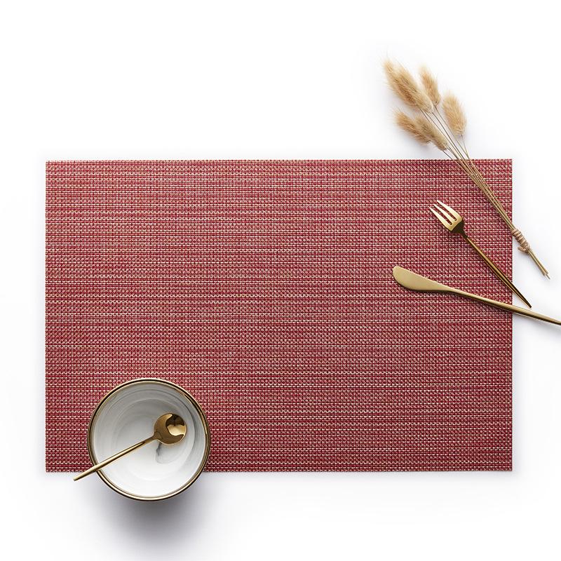 金糸の長方形の赤色