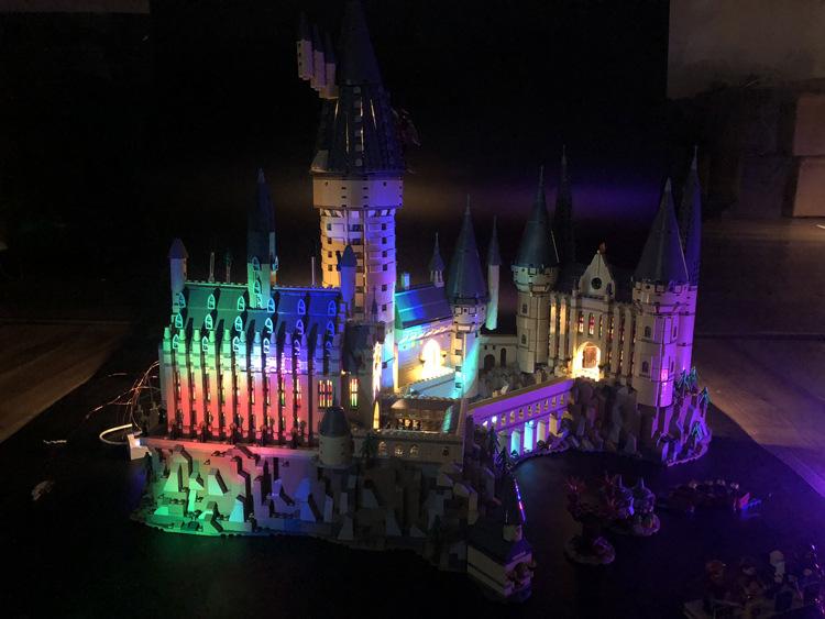 ハリーポッターホーグワーツ城ライト版