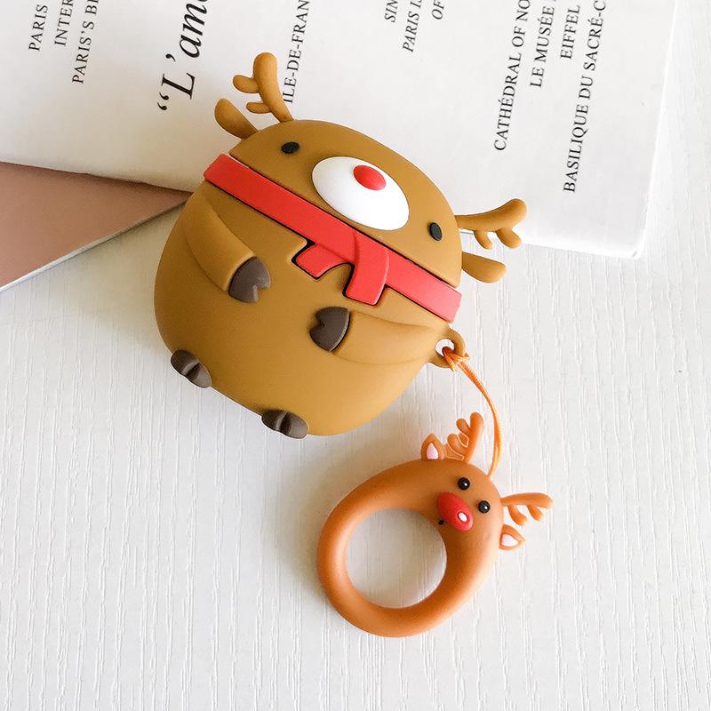 クリスマス鹿+指輪