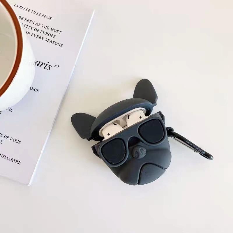 黒闘牛犬+スチール・バックル