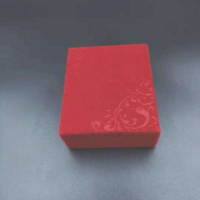 赤い7*8.4のお祝いの絨毯の箱