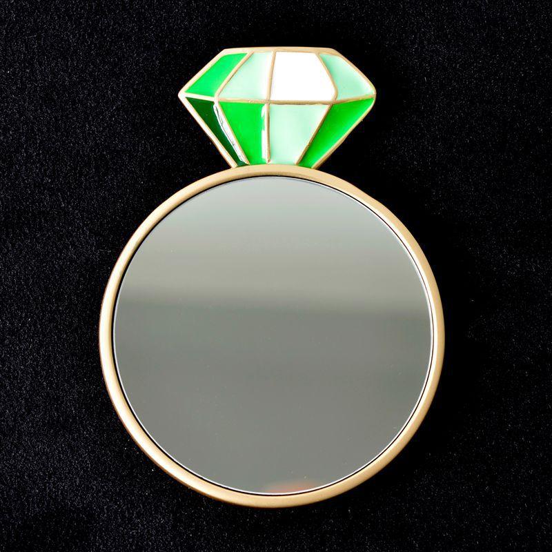 ダイヤモンド-グリーン