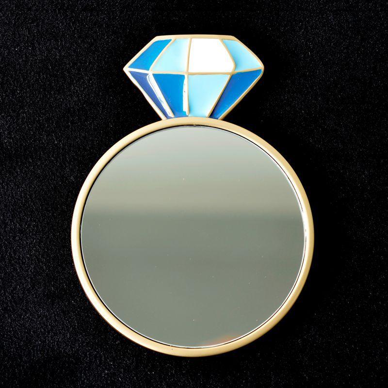 ダイヤモンド-ブルー