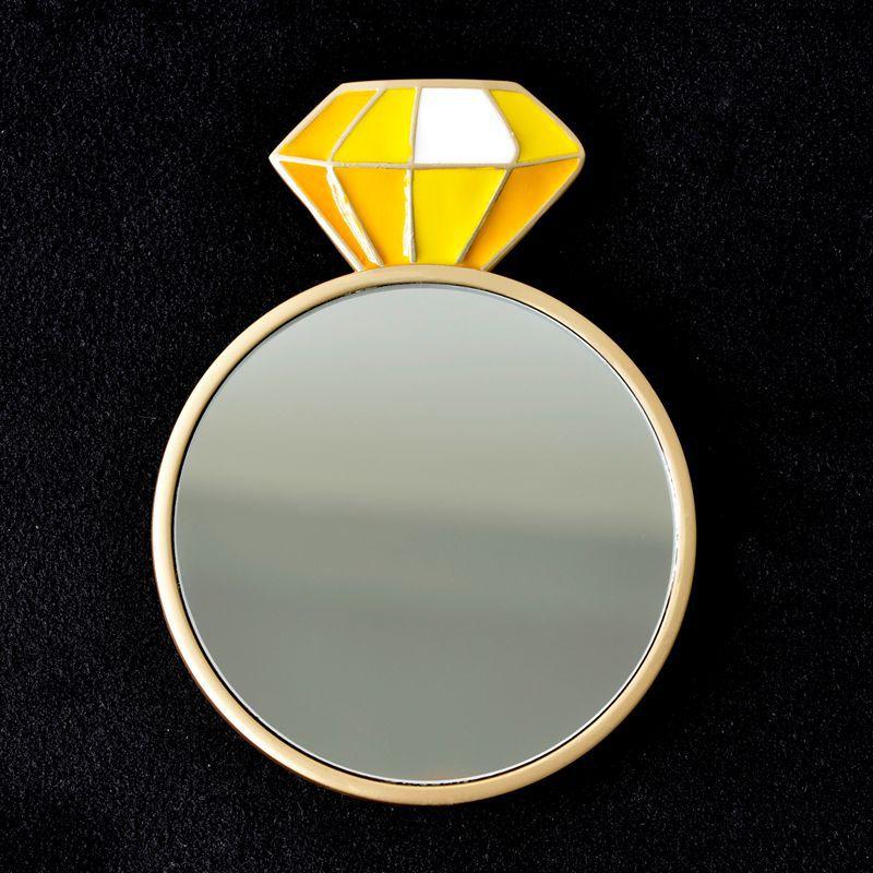 ダイヤモンド-イエロー