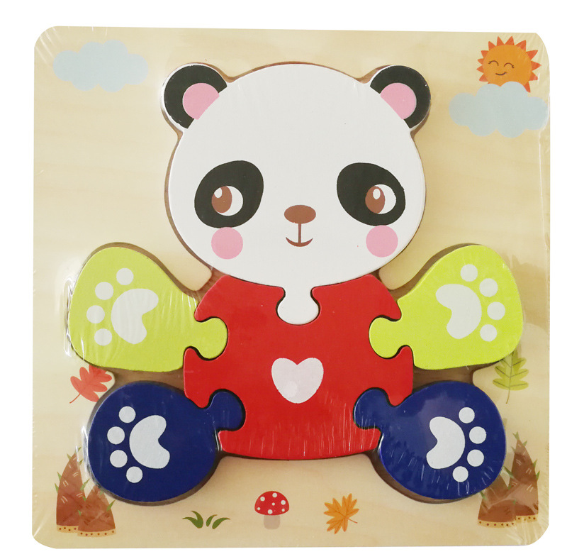 (ボタン付き)パンダ