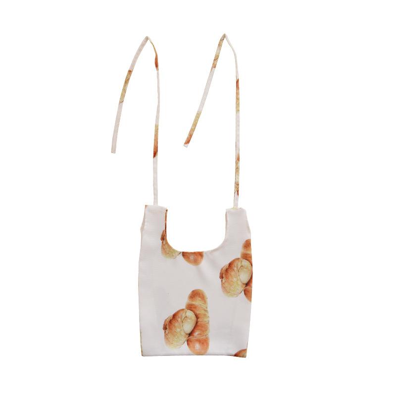 プリントの買い物袋が小さいです。