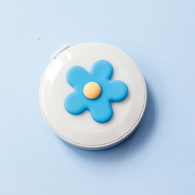 青い色の花