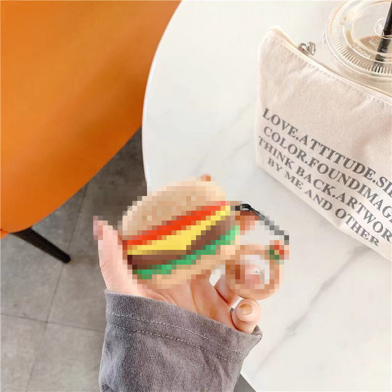 ハンバーガー+指輪