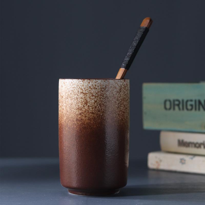 コーヒー色のグラデーション