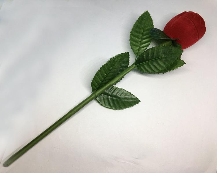 バラの花の指輪箱セット