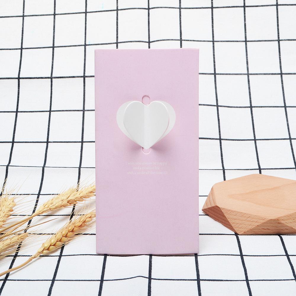 ピンクのハート+封筒+OPP