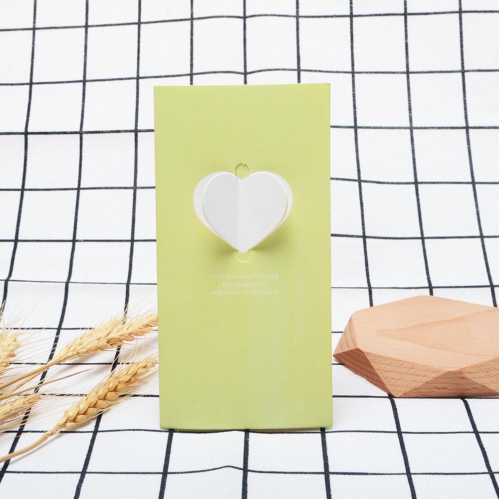 湖の緑の愛+封筒+OPP